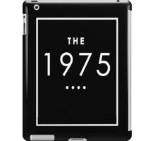The 1975 - White Transparent Logo iPad Case/Skin
