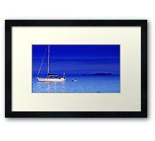 Serene Seas Framed Print