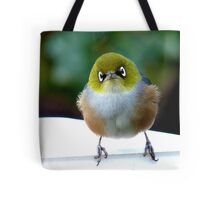 Little boy lost! - Silvereye - Wax Eye - New Zealand Tote Bag