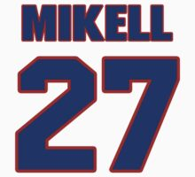 National football player Quintin Mikell jersey 27 by imsport