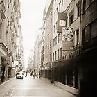 City Street Lomo Argentina by Juilee  Pryor