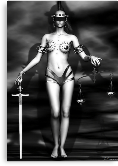 Lady Justice by Shanina Conway