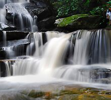 Waterfall from Somersby Falls 10 by wbgraphy