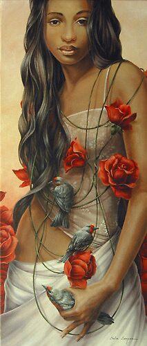 El collar de Rosa by Chelin Sanjuan