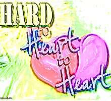 HARD TO HEART TO HEART Design by SmashBam by SmashBam