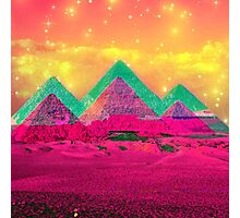 Trippy Pyramids Photographic Print