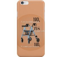 NYN iPhone Case/Skin