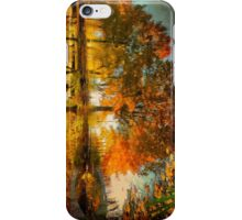 Reflection of the fall iPhone Case/Skin