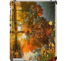 Reflection of the fall iPad Case/Skin
