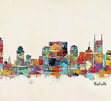 Nashville Tennessee skyline by bri-b