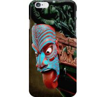 This would scare any enemy !...........Bow of Maori Waka. iPhone Case/Skin