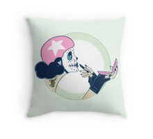 Drag Strip Courage & Compacts Throw Pillow