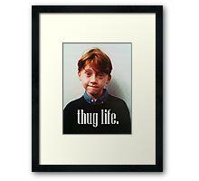 Ron Weasley Thug Life Framed Print