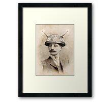Dr Lampwicke's Amazing Mind Machine Framed Print