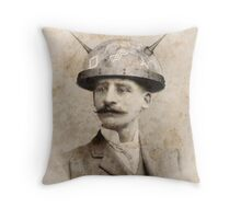 Dr Lampwicke's Amazing Mind Machine Throw Pillow
