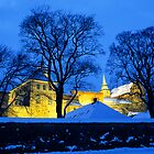 Akershus Castle in Winter, Oslo by Kasia Nowak