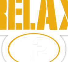 Relax Green Bay Sticker