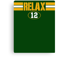 Relax Green Bay Canvas Print