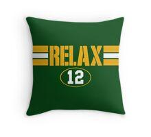 Relax Green Bay Throw Pillow