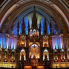 Notre-Dame Basilica - Montreal, QC. by Rina  Kupfer