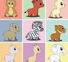 Zoo Baby's Color by suzannebertrand