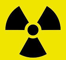 Ionizing Radiation sign - U+2622 by 2monthsoff