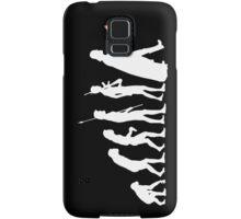 The Dark Side Of Evolution - White  Samsung Galaxy Case/Skin