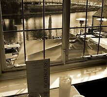 Drinks at the Boathouse by Bev Evans