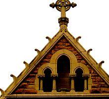 christ church celtic cross by soulsease