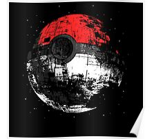 Pokeball DS Spaceship Poster