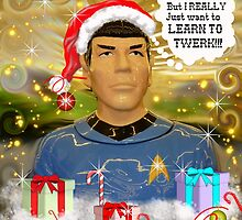 Twerking Spock? by WildestArt