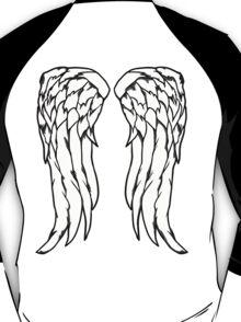 Daryl Dixon Angel Wings - The Walking Dead T-Shirt