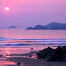 SUNDOWN AT NEWGALE BEACH by kfbphoto