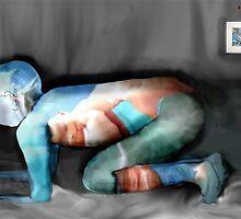 Digital Underwater Jelly Baby (Modified by Trevor Herbert) by atomikboy