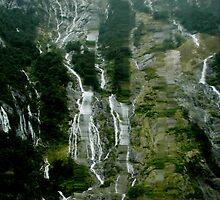 Milford Sound South Island New Zealand by Sandra  Sengstock-Miller