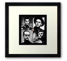 Depeche Mode :  101 Official t-shirt for Black Shirt Framed Print