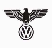 Volkswagen vintage logo by BananaAlmighty