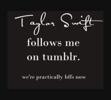 Taylor Swift Follows Me On Tumblr by changingswift
