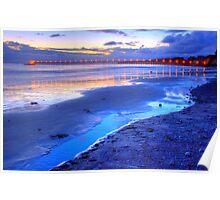 Bacara (Haskell's ) Beach, Santa Barbara Poster