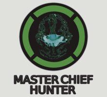 Master Chief Hunter - Achievement Hunter & Halo Mix T-Shirt