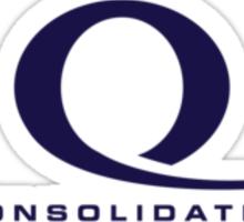 Queen Consolidated Regular Pocket Logo Sticker