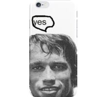"""yes"" iPhone Case/Skin"
