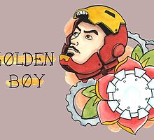 Iron Man Tattoo Flash by ColeC