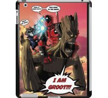 Deadpool and The Guardians of the Galaxy iPad Case/Skin