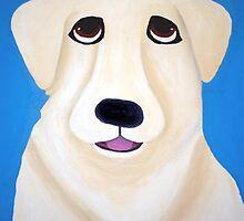 Oscar the Maremma (Italian Sheepdog) by Katie Weychardt