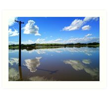 Specular Reflection - Gore - Southland Art Print