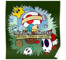 Treasure Tracked: Captain Toad's Fortune Poster
