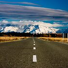 Road to Mount Cook by Alecia Scott