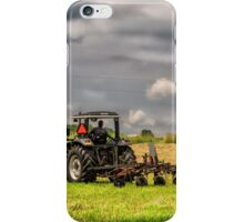 Working The Land iPhone Case/Skin