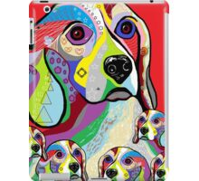 Beagle and Babies iPad Case/Skin